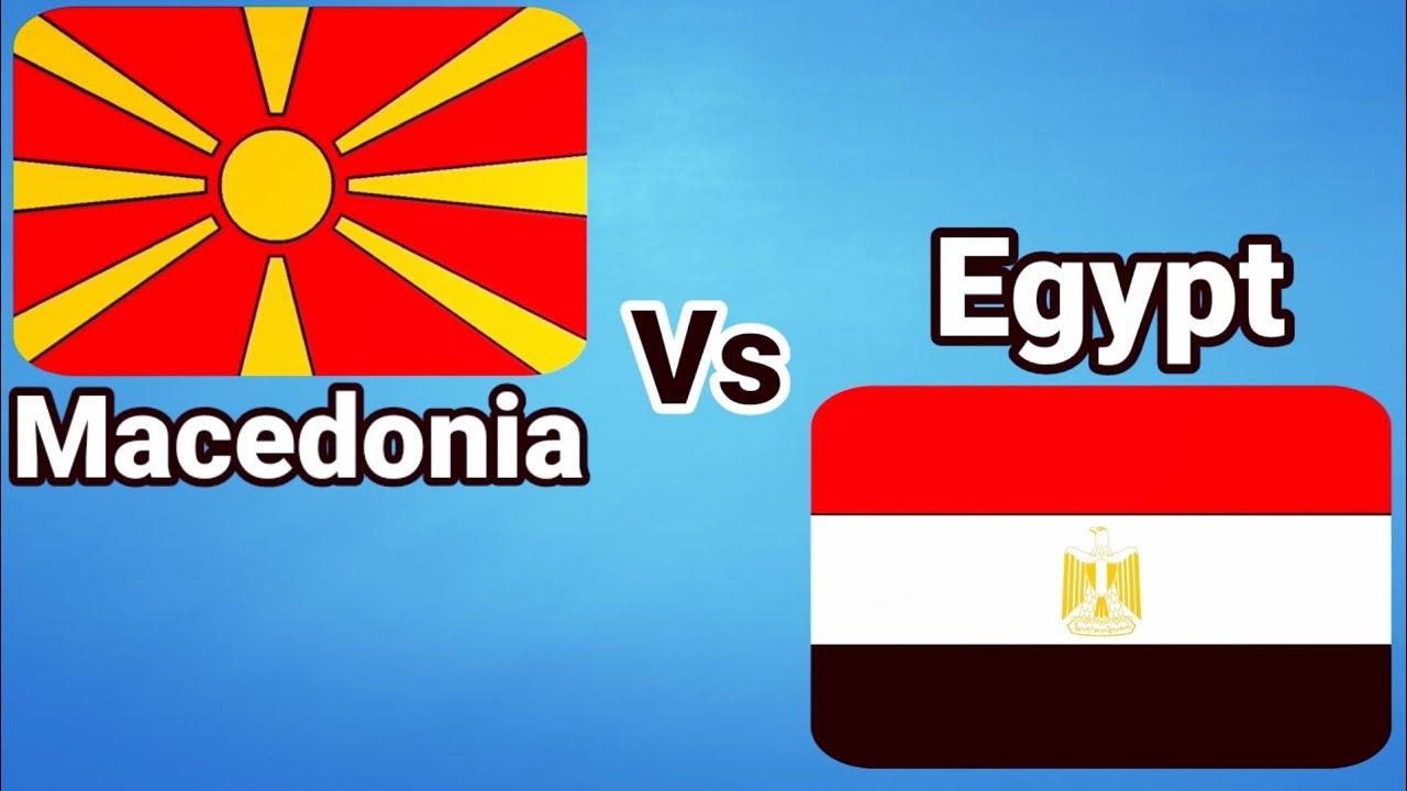 ملخص واهداف مباراة مصر ومقدونية الشمالية اليوم