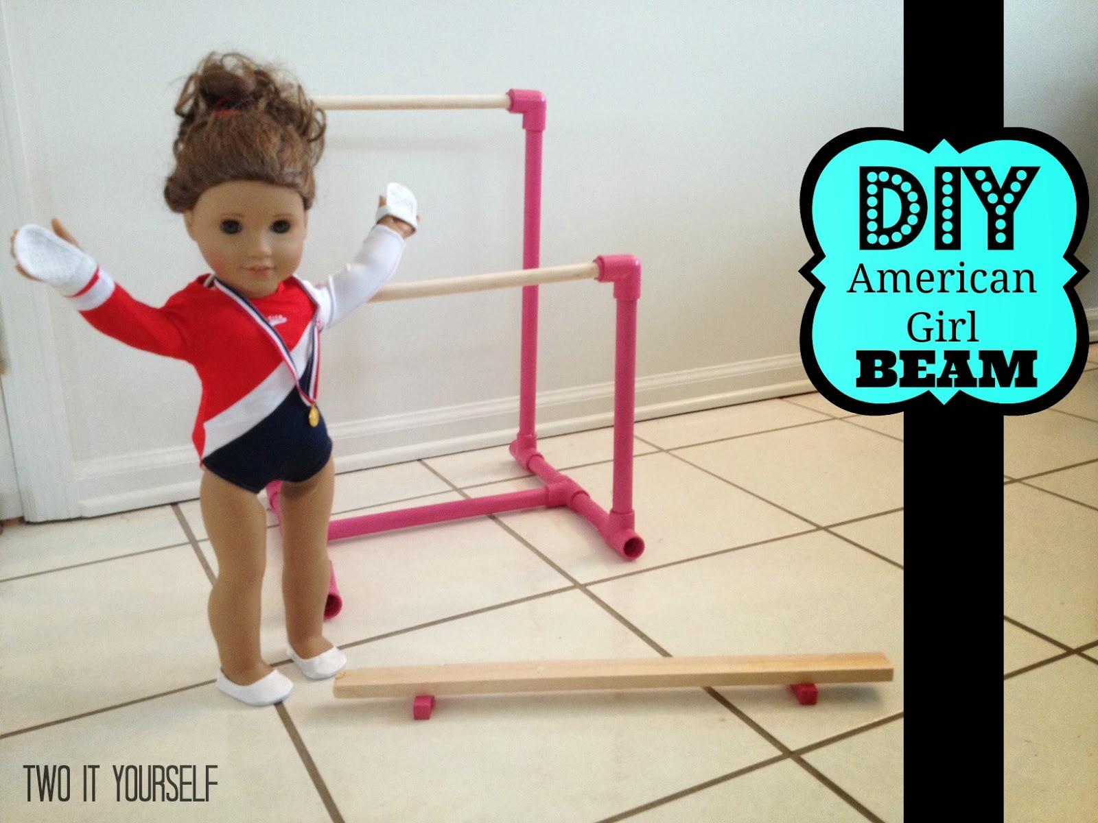 Two It Yourself Diy American Girl Balance Beam