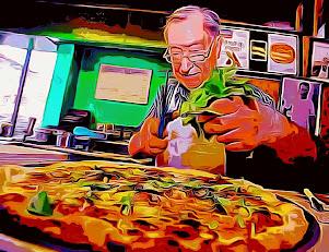 """PIZZA GOD"" Dominic DeMarco"
