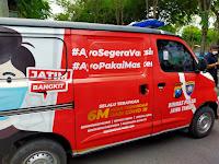 Mobil Vaksin Presisi Polres Sampang, Siap Melayani Vaksinasi Covid-19 Masyarakat Kota Sampai Pelosok Desa
