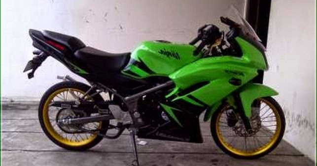 Ninja Rr 2015 Modif Dunia Otomotif 2019