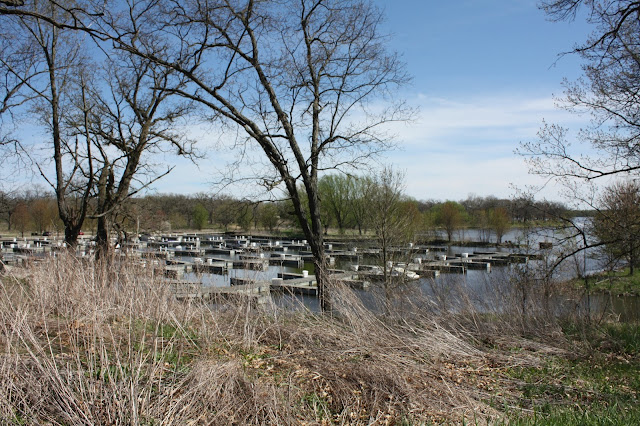 Marina at Fox River Forest Preserve in Illinois