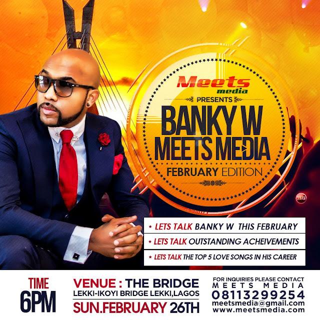 Banky W Meets Media As Doris Simeon, Bryan Okwara, Joro Olumofin, Other Stars For 'Love Meets Media' Dinner
