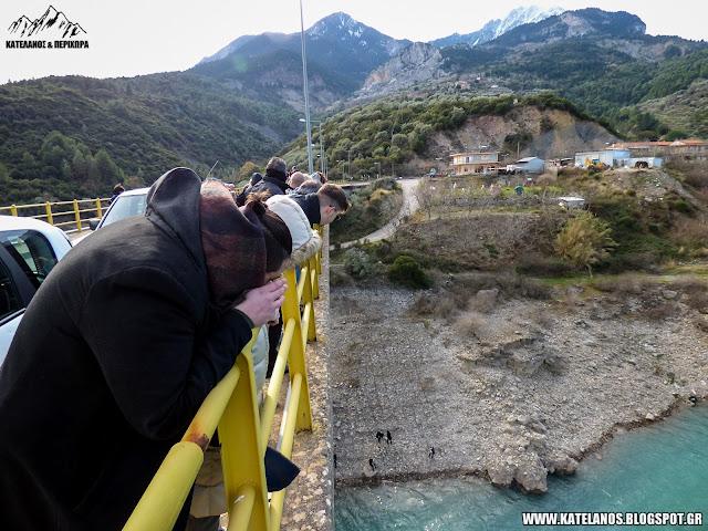 ψηλοβραχος γεφυρα επισκοπης λιμνη κρεμαστων θεοφάνεια αγιασμός υδάτων