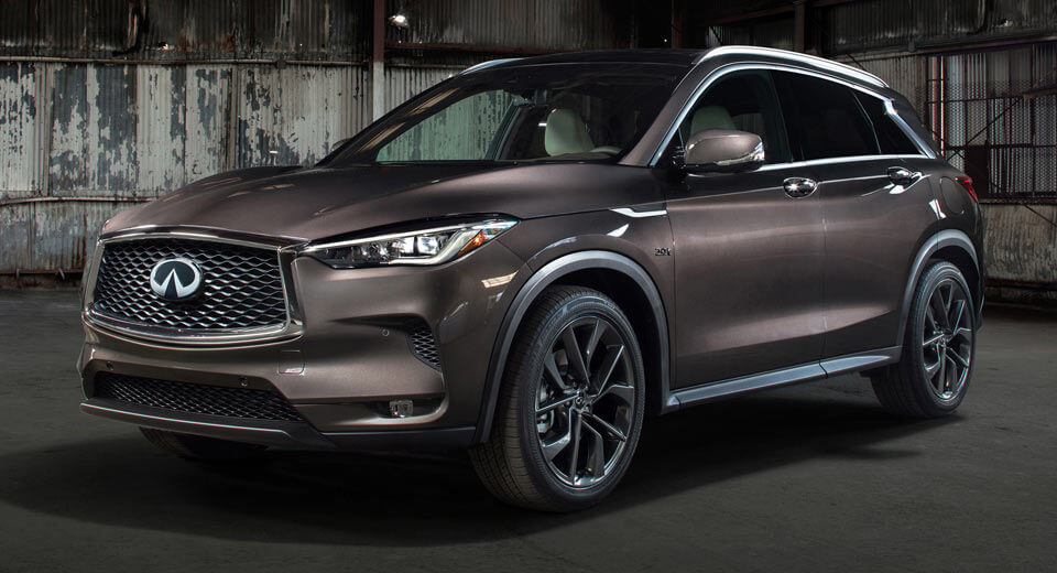 Infiniti officially unwraps new QX50