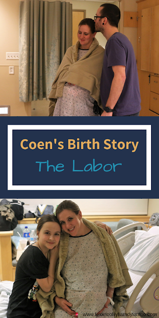Coen's Birth Story - The Labor