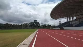 Lintasan Lari Mimika Sport Complex, pic credit by Liputan 6
