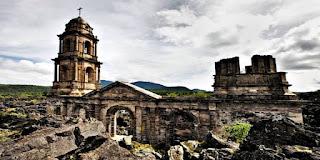 THE CHURCH OF SAN JUAN PARANGARICUTIRO, MEXICO