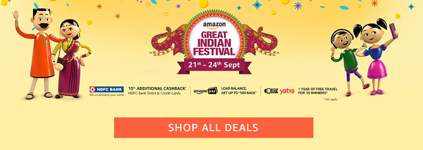 Smart Phones- Amazon Indian Festival Offers