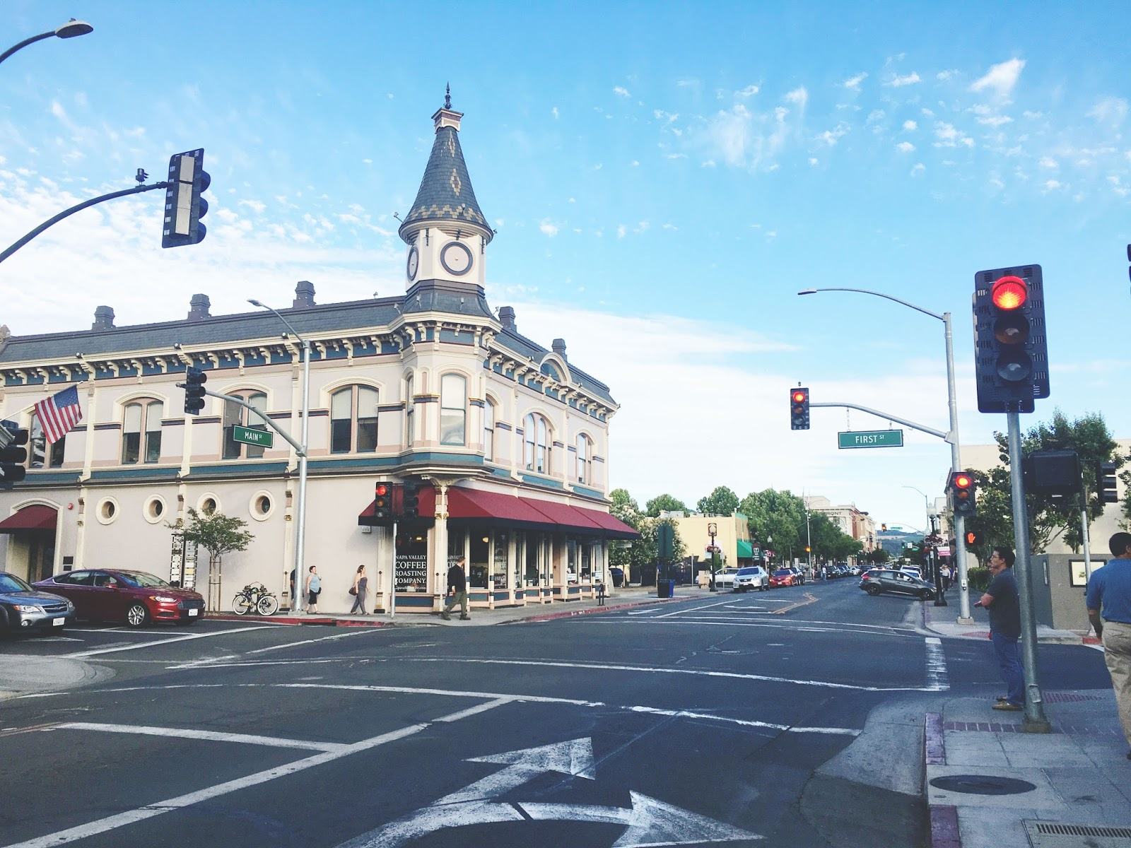 downtown Napa, California