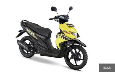 Harga Resmi Motor Suzuki Nex II Terbaru