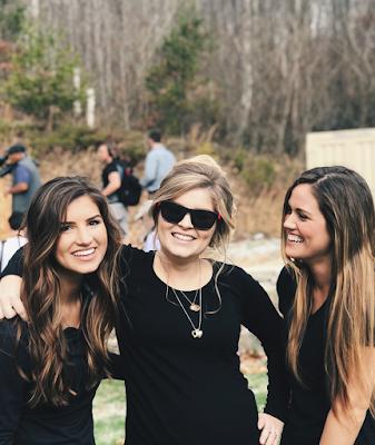 Carlin Bates, Erin Paine, Whitney Bates