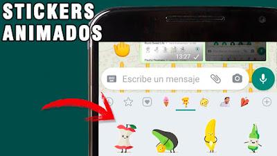cómo activar los Stickers animados en WhatsApp