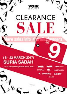 VOIR GROUP Clearance Sale Sabah 2017