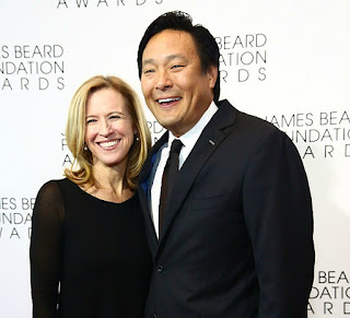 Polly Tsai with her celebrity husband Ming Tsai
