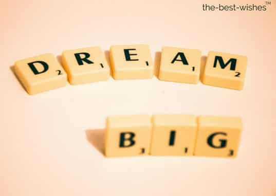 nice good morning quotes dream big
