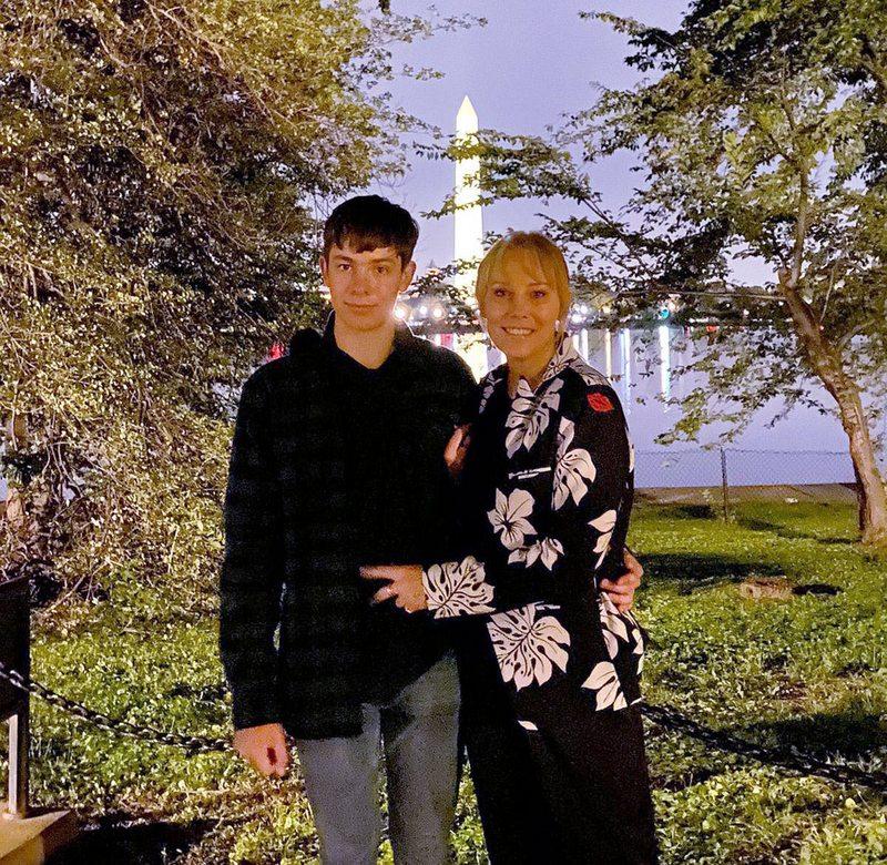 El viaje de Soledad Bacarreza y su hijo de 15 años a EE.UU.