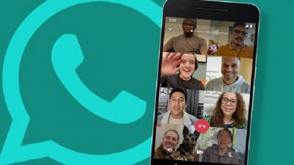 Begini cara grup video call 8 orang sekaligus di whatsapp