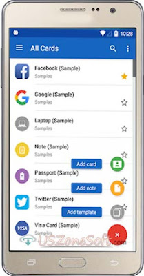 Free Android Password Manager, Free Android Cloud Security App, Password Manager SafeInCloud APK Free Download For Android