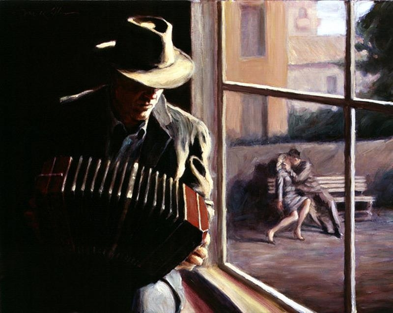 Mark Keller - American Figurative painter