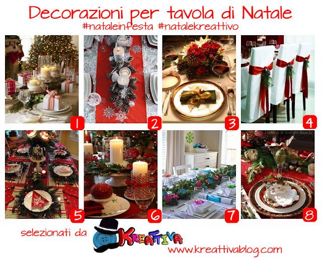 16 idee per decorare la tavola di natale kreattivablog - Decorazioni tavola natale ...