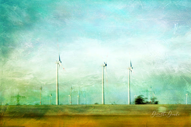 windmills, Windräder, Dorothe Domke, gestische Fotografie, intentional camera movement, Kunst, art, abstract, icm