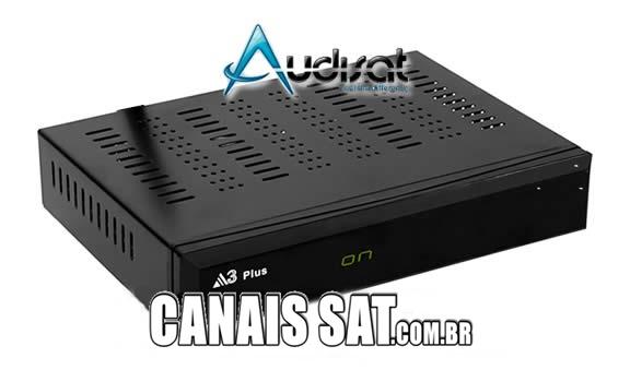 Audisat A3 Plus Nova Atualização V1.4.07 - 28/02/2020