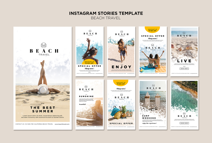 Enjoy Best Summer Time Instagram Stories