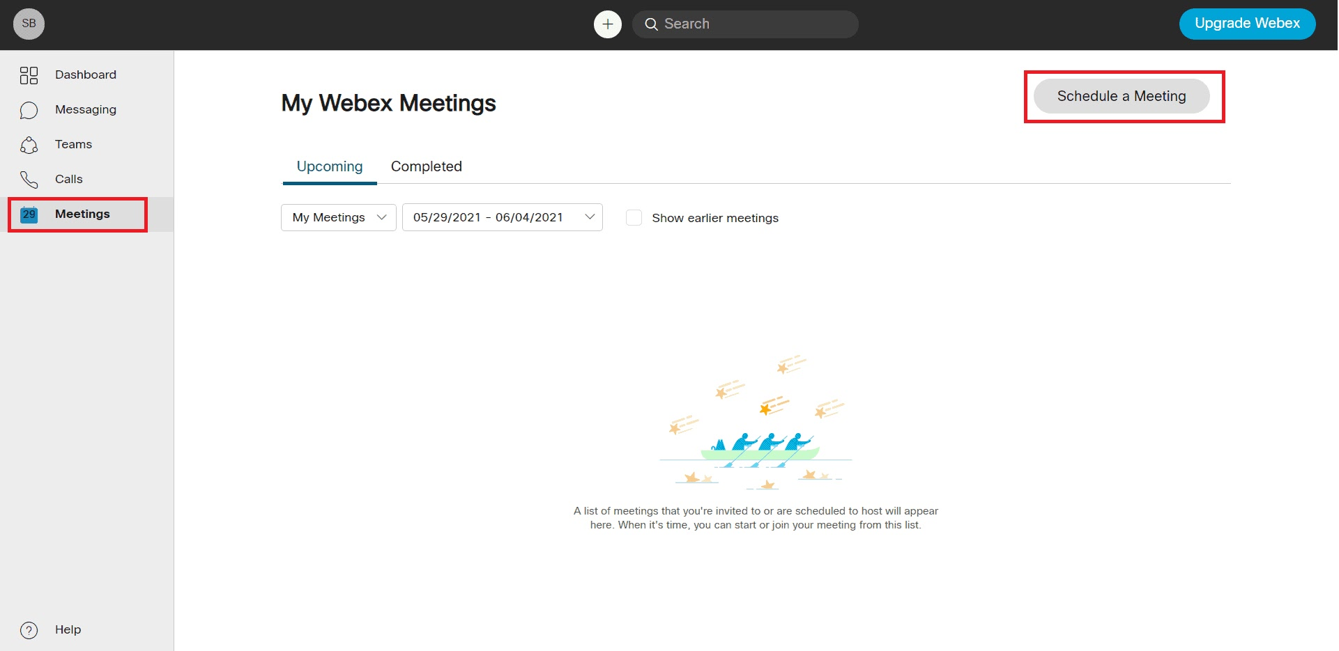 How to Schedule WebEx meeting without Outlook