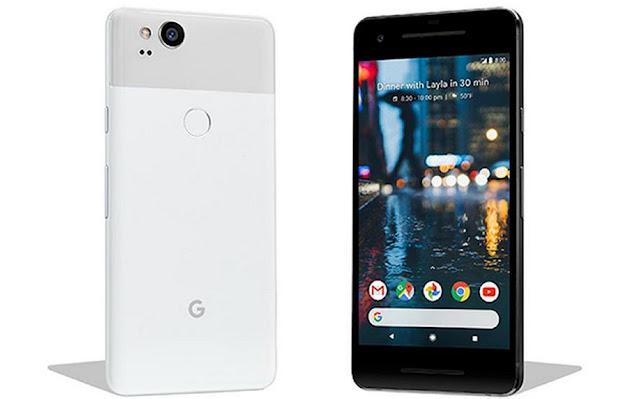 Spek google pixel 2 xl