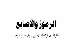 تحميل الكتاب الرموز والأصابع للحبيب أبو بكر العدني ابن علي المشهور