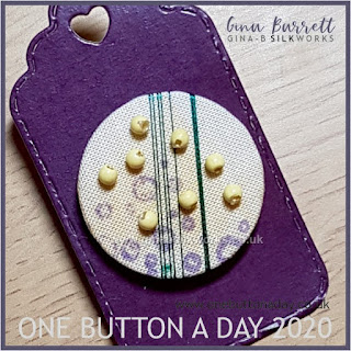 Day 194 : Bubbles - One Button a Day 2020 by Gina Barrett