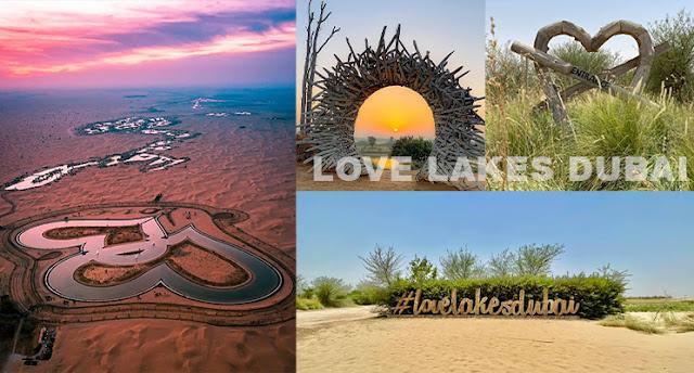 Love lake Dubai-Al Qudra