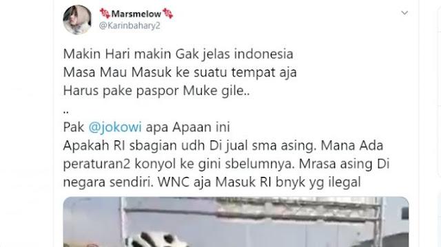 Heboh Masuk Pantai Indah Kapuk Harus Pakai Paspor, Netizen: Apakah Sebagian RI Sudah Dijual ke Asing?