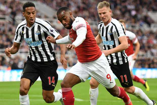 Arsenal FC Aubameyang Vs Newcastle United
