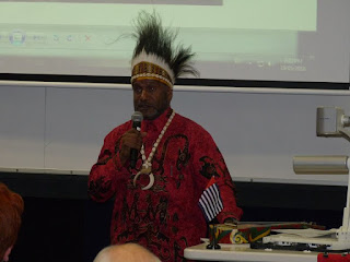 Benny Wenda Sosialisasi Papua Merdeka di Universitas Tertua Ke-3 di Australia