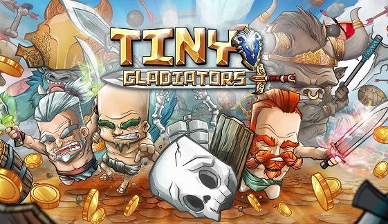 Download Tiny Gladiators Mod Apk Unlimited Money Gems