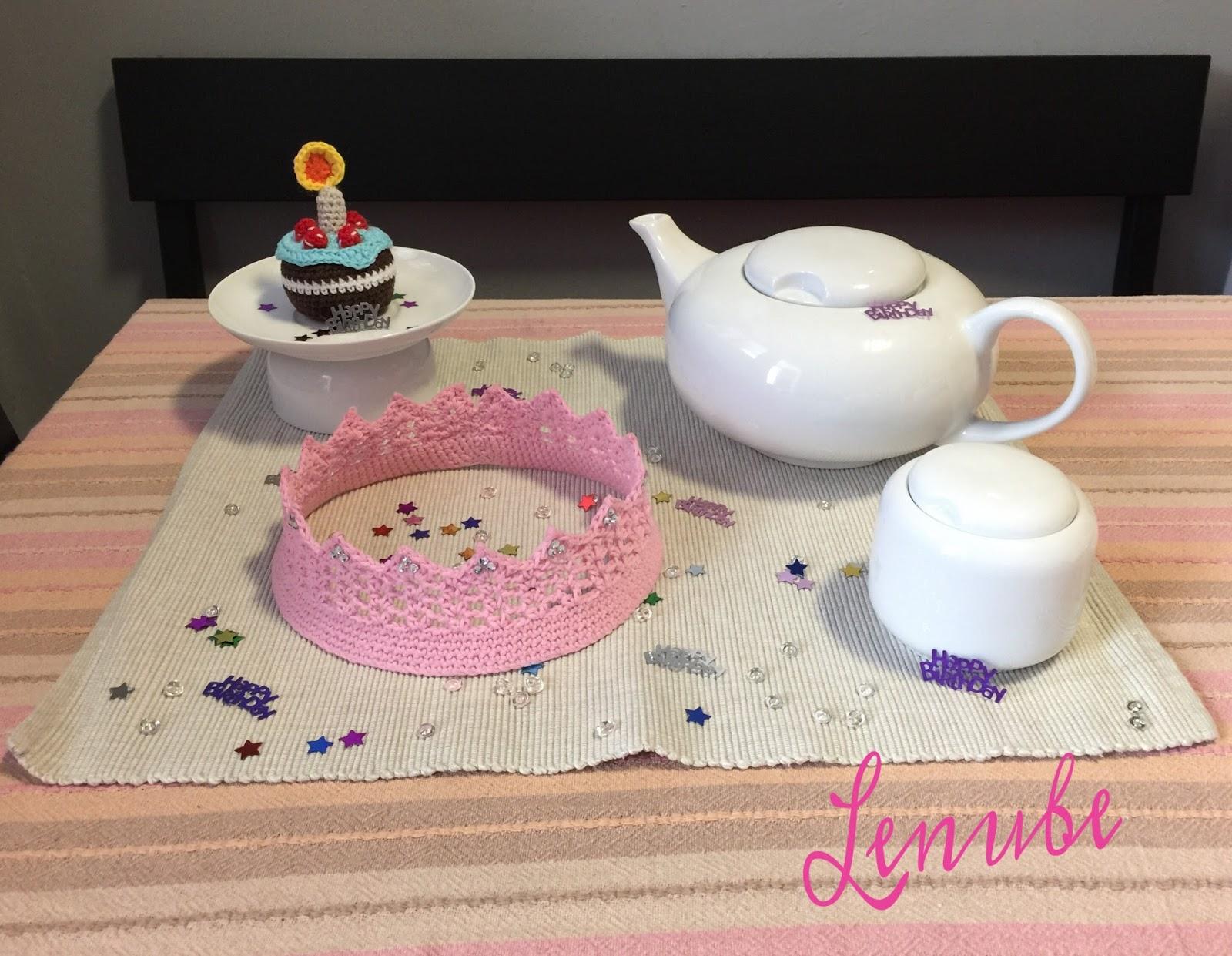 Ideas cumpleaños a crochet