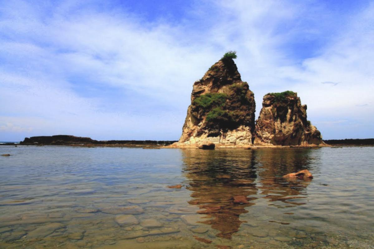 Lokasi Hunting Foto Landscape Pantai Sarwana Banten