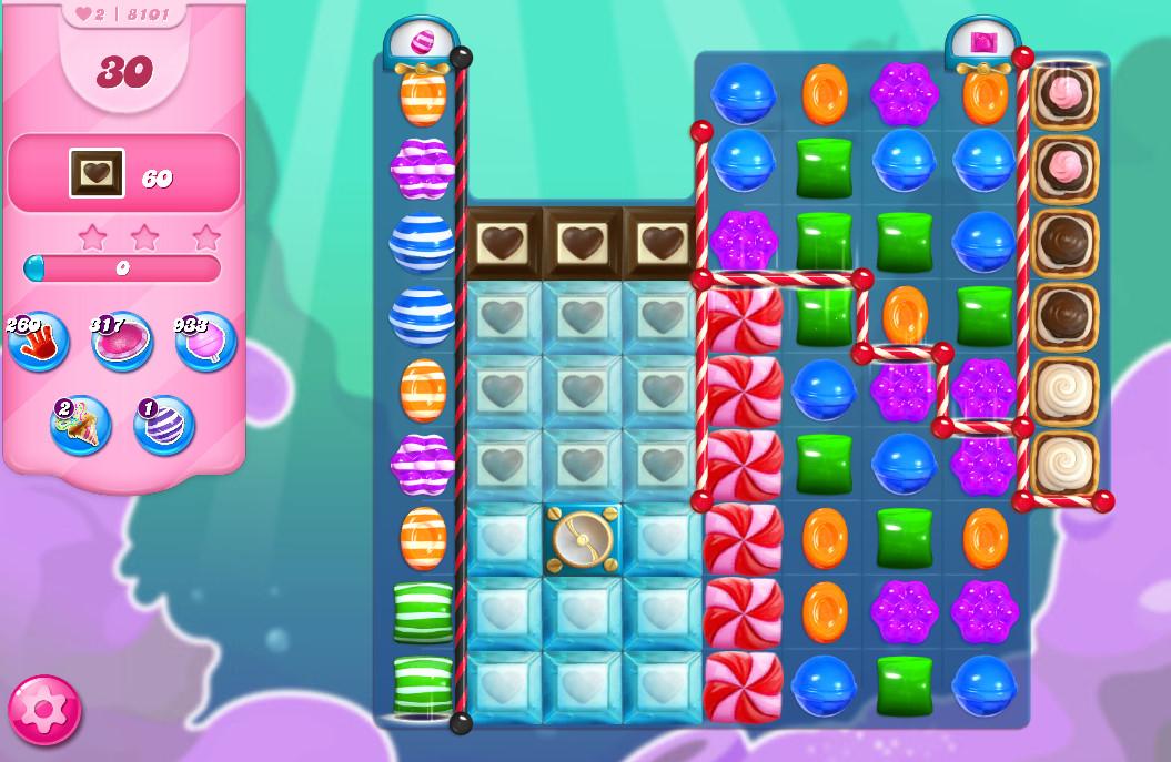 Candy Crush Saga level 8101