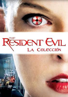 COMBO Resident Evil Coleccion DVD HD Dual Latino 5.1 + Sub 3xDVD5