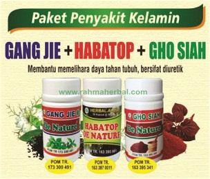 Paket penyakit kelamin kapsul Gangjie habatop dan ghosiah