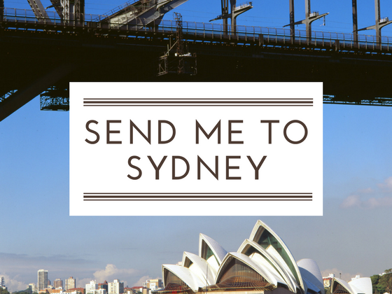 Fancy a free trip to Sydney?