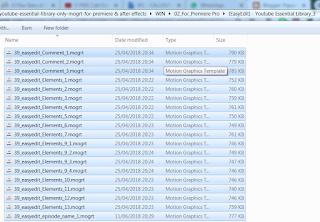 Cara Menginstall dan Menggunakan File Essential Graphics Mogrt di Premiere Pro CC √  Cara Menginstall dan Menggunakan File Essential Graphics Mogrt di Premiere Pro CC