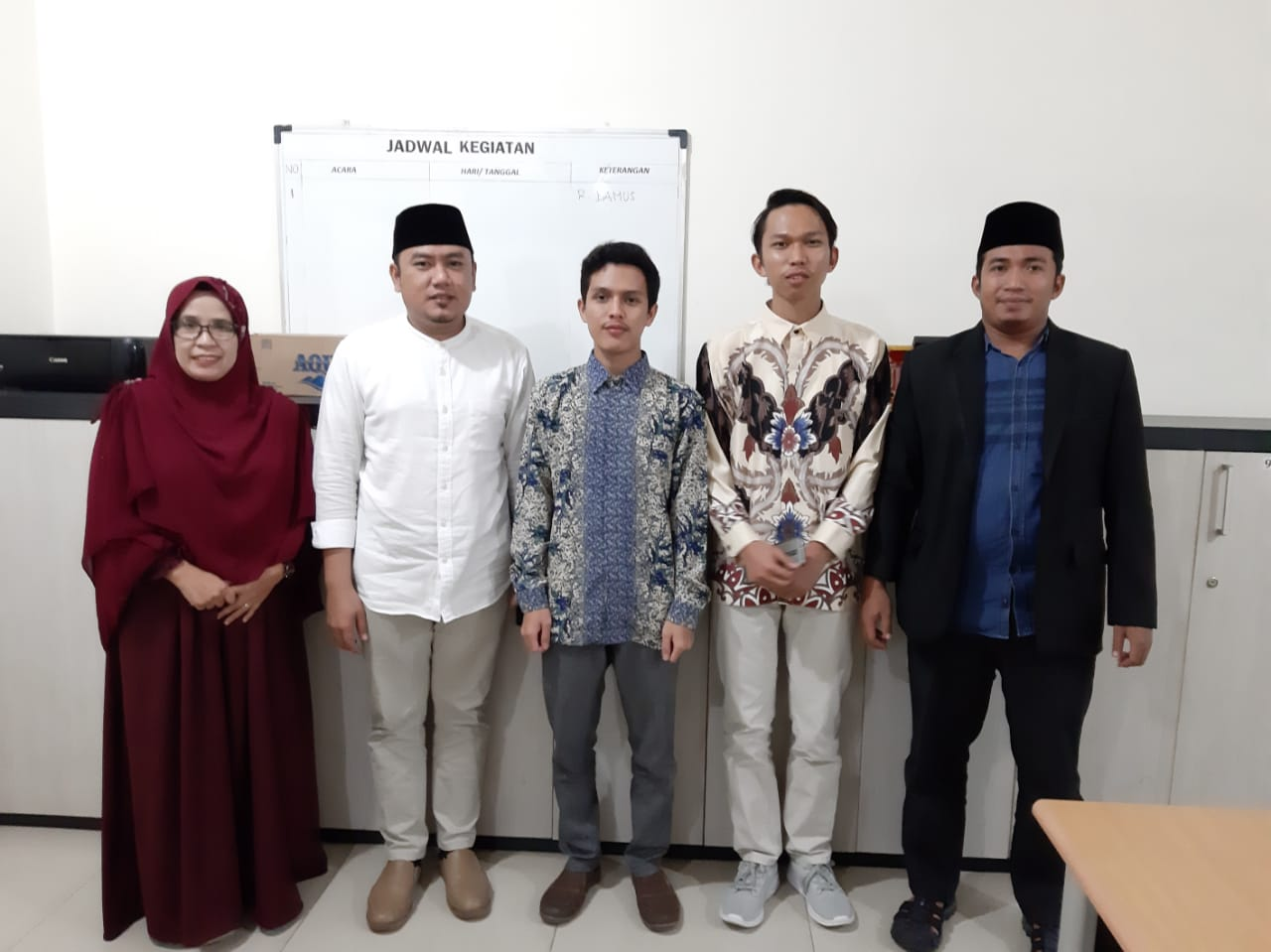 Fraksi PKS Inhu Terima Kunjungan Alumni Pondok Pesantren Khairul Ummah