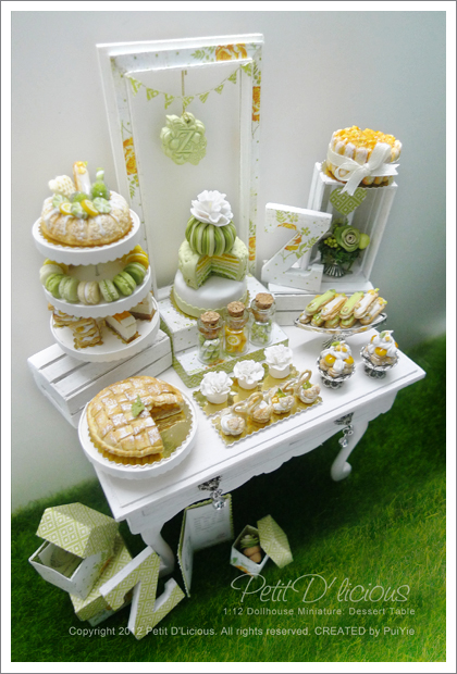Pretty In Summer Yellow Green Birthday Dessert Table It Is Always Fun To Try Setting Up The On Something Different Just Like Realistic But