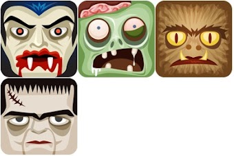 Classic Monsters Icons by fasticon.com