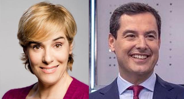 Anabel Alonso destroza en Twitter al candidato del PP a la Junta de Andalucía con una mofa