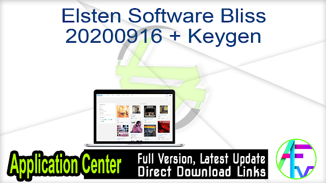 Elsten Software Bliss 20200916 + Keygen