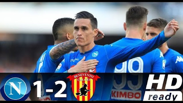 Video Napoli 1:2 Benevento